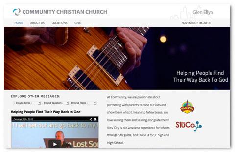 Community Westline: web design by Brian Lis