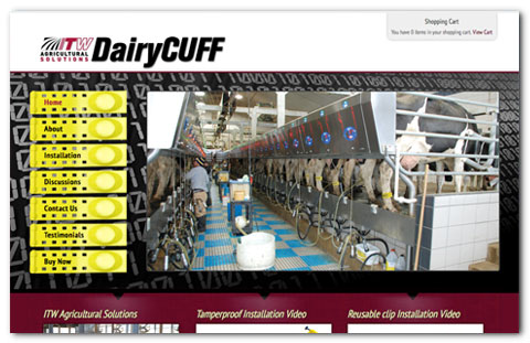 ITW Dairy Cuff WordPress Design by Brian Lis