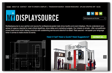 My Display Source - web design by Brian Lis