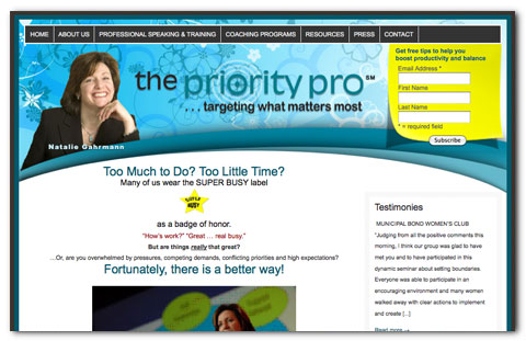 The Priority Pro: Designed by Brian Lis